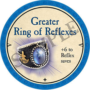 Greater Ring of Reflexes - 2021 (Light Blue)