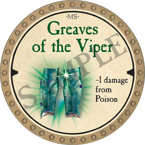Greaves of the Viper - 2019 (Gold) - C22