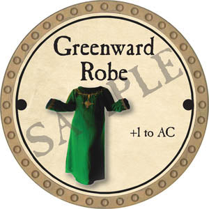 Greenward Robe - 2017 (Gold)