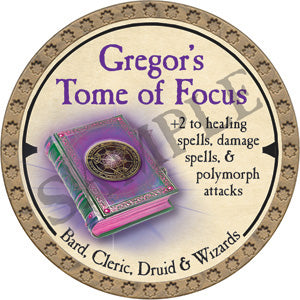 Gregor's Tome of Focus - 2019 (Gold)
