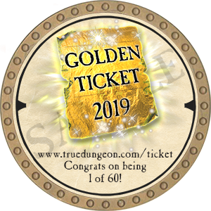 Golden Ticket - 2019 (Gold) - C1