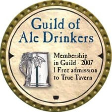 Guild of Ale Drinkers - 2007 (Gold)