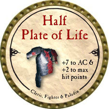 Half Plate of Life - 2010 (Gold)