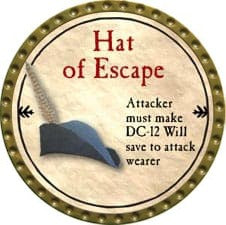 Hat of Escape - 2009 (Gold)
