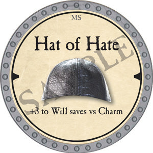 Hat of Hate - 2019 (Platinum)