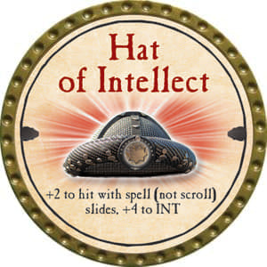 Hat of Intellect - 2014 (Gold) - C37