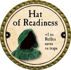 Hat of Readiness - 2013 (Gold)