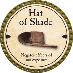 Hat of Shade - 2014 (Gold)