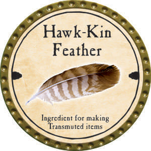 Hawk-Kin Feather - 2014 (Gold) - C37