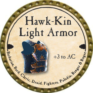 Hawk-Kin Light Armor - 2014 (Gold)