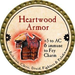 Heartwood Armor - 2013 (Gold)