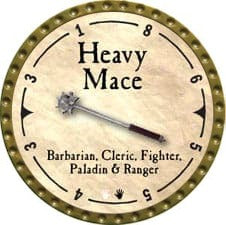 Heavy Mace - 2007 (Gold)