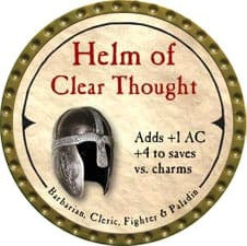 Helm of Clear Thought - 2007 (Gold) - C37