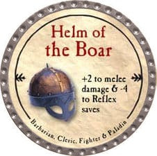 Helm of the Boar - 2009 (Platinum)