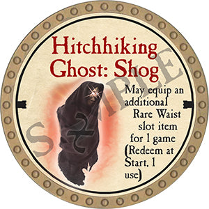 Hitchhiking Ghost: Shog - 2020 (Gold)