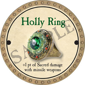 Holly Ring - 2017 (Gold) - C58