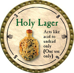 Holy Lager - 2012 (Gold)