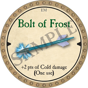 Bolt of Frost - 2019 (Gold)