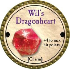 Wil's Dragonheart - 2011 (Gold) - C38