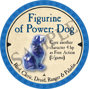 Figurine of Power: Dog - 2019 (Light Blue) - C1
