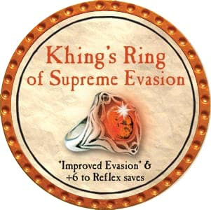 Khing's Ring of Supreme Evasion - 2012 (Orange) - C1