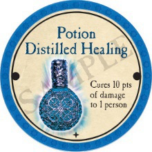 Potion Distilled Healing - 2017 (Light Blue)
