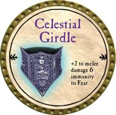 Celestial Girdle - 2009 (Gold) - C3