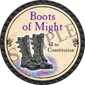 Boots of Might - 2016 (Onyx) - C25