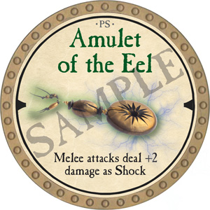Amulet of the Eel - 2019 (Gold)