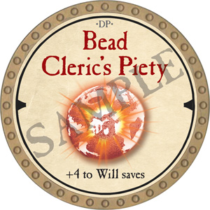 Bead Cleric's Piety - 2019 (Gold)