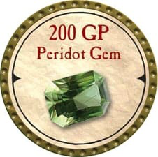 200 GP Peridot Gem - 2006 (Woodie) - C12