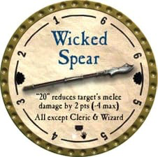 Wicked Spear - 2011 (Gold) - C26