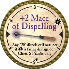 +2 Mace of Dispelling - 2008 (Gold) - C49