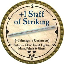 +1 Staff of Striking - 2008 (Gold) - C49