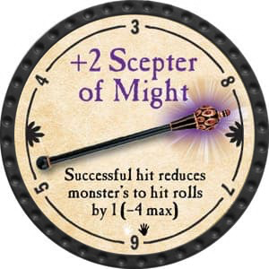 +2 Scepter of Might - 2015 (Onyx) - C25