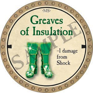 Greaves of Insulation - 2020 (Gold) - C54