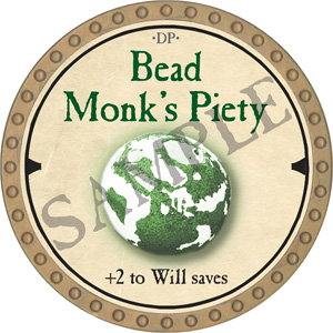 Bead Monk's Piety - 2019 (Gold)