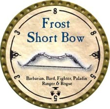 Frost Short Bow - 2010 (Gold) - C49