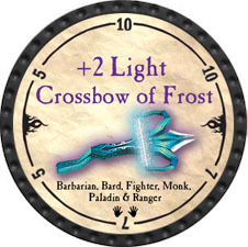 +2 Light Crossbow of Frost - 2010 (Onyx) - C1