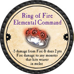 Ring of Fire Elemental Command - 2013 (Onyx) - C25