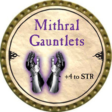 Mithral Gauntlets - 2010 (Gold) - C57