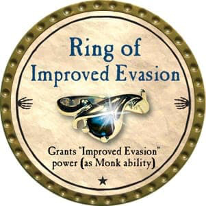 Ring of Improved Evasion - 2012 (Gold) - C19