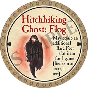 Hitchhiking Ghost: Flog - 2020 (Gold) - C007