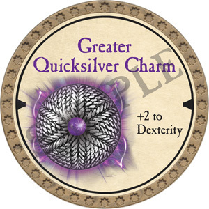 Greater Quicksilver Charm - 2019 (Gold)