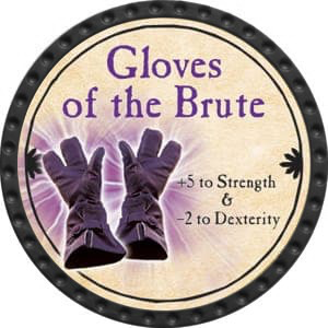 Gloves of the Brute - 2015 (Onyx) - C25