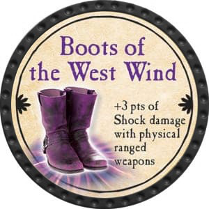 Boots of the West Wind - 2015 (Onyx) - C25