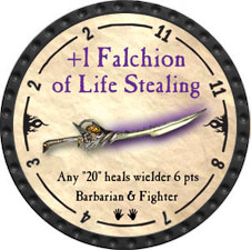 +1 Falchion of Life Stealing - 2010 (Onyx) - C1