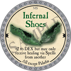 Infernal Shoes - 2018 (Platinum)