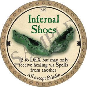 Infernal Shoes - 2018 (Gold)