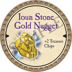 Ioun Stone Gold Nugget - 2019 (Gold)